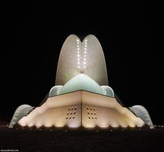 Auditorio de Tenerife, Santa Cruz de Tenerife, Spain. / Auditorio de Tenerife, Santa Cruz de Tenerife, España.