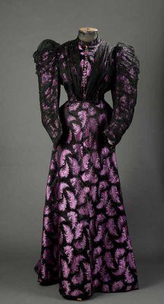 Evening Gown, around 1895-1900