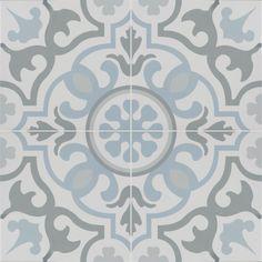 porcelain flooring MSI Blume Encaustic 8 in. x 8 in. Glazed Porcelain Floor and Wall Tile sq. - The Home Depot Bathroom Floor Tiles, Shower Floor, Tile Floor, Ceramic Tile Bathrooms, Ceramic Floor Tiles, Bathroom Rugs, Southwestern Tile, Rustic Bathroom Vanities, Bathroom Ideas