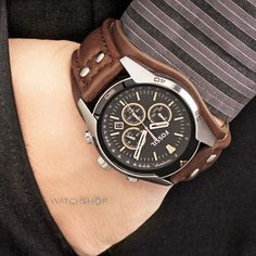 How would you style this Fossil Watch?