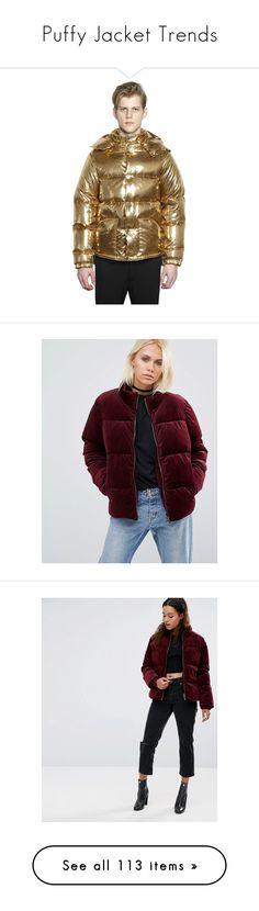 """Puffy Jacket Trends"" by jckyleeah ❤ liked on Polyvore featuring puffyjacket, DownJacket, fallwinter2016, jckyleeah, men's fashion, men's clothing, men's outerwear, men's jackets, gold and mens zipper jacket"