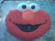 Elmo Cake (Josie 2)