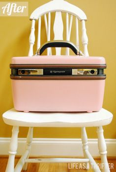 Life as a Thrifter: The Ole Train Case Redo