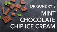 Delicious Avocado Ice Cream Recipe (the Gundry way!) - This Mint Chocolate Chip Avocado Ice Cream will satisfy both your ice cream and chocolate cravings - Menta Chocolate, Chocolate Chip Ice Cream, Mint Chocolate Chips, Healthy Chocolate, Delicious Chocolate, Low Lectin Foods, Lectin Free Foods, Lectin Free Diet, Dr Gundry Recipes