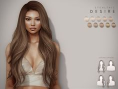 Curled Hairstyles, Straight Hairstyles, Sims 4 Men Clothing, Sims 4 Piercings, The Sims 4 Skin, Fashion Figure Drawing, Pelo Sims, Sims 4 Collections, Hair Illustration
