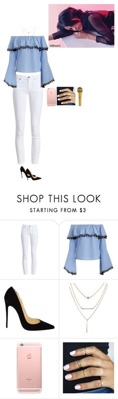 """Untitled #2716"" by anisaortiz ❤ liked on Polyvore featuring Barbour and Christian Louboutin"