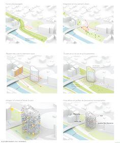 """Arbre Blanc"" -futurist high-rise in Montpellier by Sou Fujimoto Architecture Panel, Architecture Graphics, Japanese Architecture, Architecture Drawings, Concept Architecture, Amazing Architecture, Classical Architecture, Landscape Architecture, Sou Fujimoto"