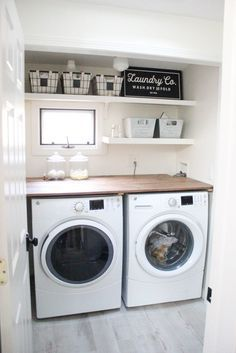 Farmhouse laundry room | laundry room | laundry rooms | laundry room ideas | laundry rooms ideas | laundry room storage | laundry room design | laundry room organization | laundry room cabinets | https://steeltablelegs.com