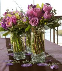 wedding flowers lavender and sage | Choosing the color scheme/theme of your wedding is one of the first ...
