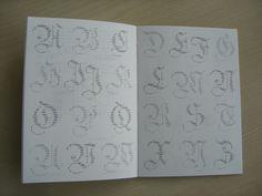 ASCII Fraktur Caps by Dan Reynolds (2009).