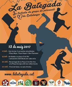 No us perdeu demà a la tarda La Bategada!!!! #nins #ninsmanresa #pictureoftheday #bestoftheday #bategada #tabalers #tabals #musica #musically #instrumental #instruments #tradicio #espectacular #soroll