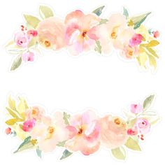 Flower Border SVG Fi