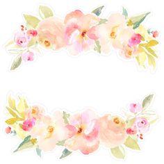 Flower Border SVG Fi