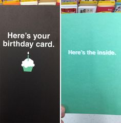 10+ Hilarious Greeting Cards That Will Surprise You When You Open Them