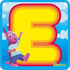 Letra E mayúscula, vocal. Scrapbook Letters, Alphabet And Numbers, Rubber Duck, Pikachu, Cartoon, Fictional Characters, 1, Everton, Alphabet