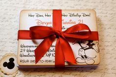 Vintage Inspired Customized Mickey Mouse Party by JacquelynVaccaro, $4.00