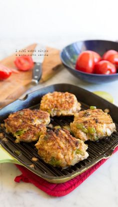 Paleo Chicken Fajita Burgers  #21dsd #chicken