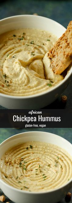 In this post, I share the secret to making the most awesome hummus dip, from an Algerian recipe. This Algerian Hummus recipe delivers the most silky smooth and creamy hummus dip. Vegan and gluten-free