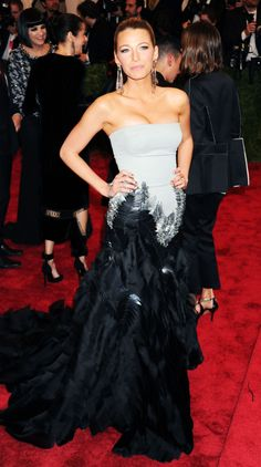 Blake Lively attends the Costume Institute Gala for the