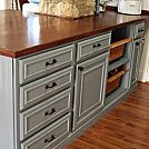 How To Make Your Kitchen Cabinets Look Built-in Using Scrap Wood
