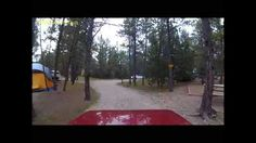 Ride around the Hot Springs KOA campground where you will drive thru the Northwoods tent w/ electricity are, past cabins and the playground.  Enjoy Video 2!