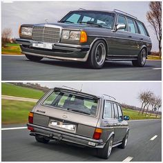 1984 Mercedes-Benz 280 TE The is a range of executive cars produced by manufacturer between… Mercedes Benz 190e, Benz S, Mercedes Benz Cars, Bmw Classic, Classic Mercedes, Porsche Boxster, Modified Cars, Super Cars, Range