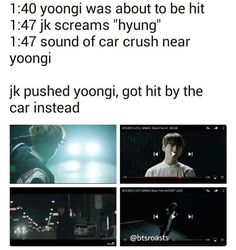 Woah. This is heartbreaking... Jungkookie...