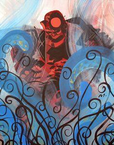 Hellboy by Scott Morse *