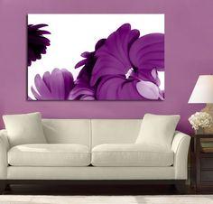 Purple+Floral+Canvas+Art   visit simplycanvasart co uk