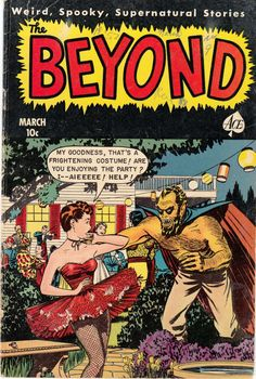 Comic Book Cover For The Beyond #9