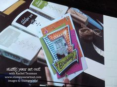 What's NEW!?! Sara & Shelli share their ideas with the Marquee Messages stamp set!...#stampyourartout #stampinup - Stampin' Up!® - Stamp Your Art Out! www.stampyourartout.com