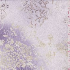 Purple/Pink Floral Stretch Lace - 31086 - Fabric By The Yard At Discount Prices