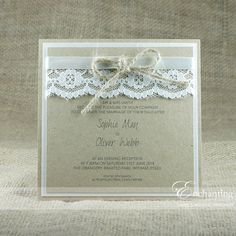 The Thumbelina Collection - Luxury Flat (Postcard) Invitation | Featuring…