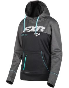Pursuit Tech Womens Pullover New Color for 2019 item# 191214 polyester fleece with DWR finish Front pouch pocket with zippered phone pocket Drawcord adjustable hood with self lining Screen printed logos Snowmobile Clothing, Outerwear Women, Print Logo, Hoodies, Sweatshirts, Hooded Jacket, Fashion Outfits, Pullover, Fox