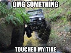 In side walls we trust. -Jeep