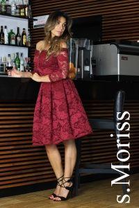 Sukienka SCARLET długa Dresses With Sleeves, Summer Dresses, Formal, Scarlet, Long Sleeve, Facebook, Style, Fashion, Preppy