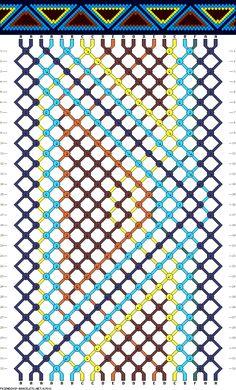 20 strings, 6 colors, 32 rows