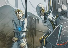 Awesome Art work of Portal 2