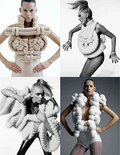 Avant garde knits from Campaign for Wool