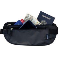 Travel Navigator RFID-Blocking Money Belt available at Amazon.com