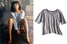 The 15 Most Iconic Items Of Clothing In Film  Flashdance, Pullover