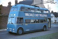 1956 Sunbeam F4A/ Willowbrook - Walsall 872 on last run in  1970