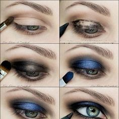 makeup brown eyes