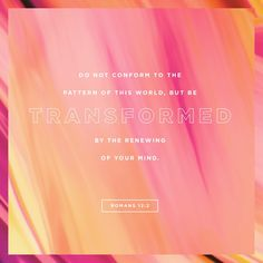 Verse of the Day - ROMANS 12:2   The Bible App   Bible.com