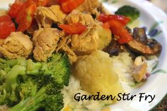 Garden Stir Fry Recipe