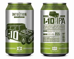 Intuition Ales IPA Can