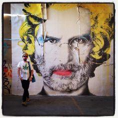 Steve Jobs Warhol-ized.