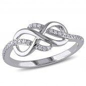 #Diamond Infinity #Jewelry By Samuels Jewelers