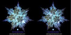 Crossview Zero Gravity Snowflake by cienciayarte.deviantart.com