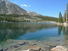 Rock Creek Lake, Sierra Nevada Mountains.